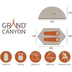 Grand Canyon Cardova 1 Telt, olive